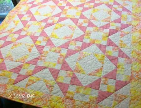 Steps to the Alter quilt on Homesewn by Carolyn, Quilting Blog.