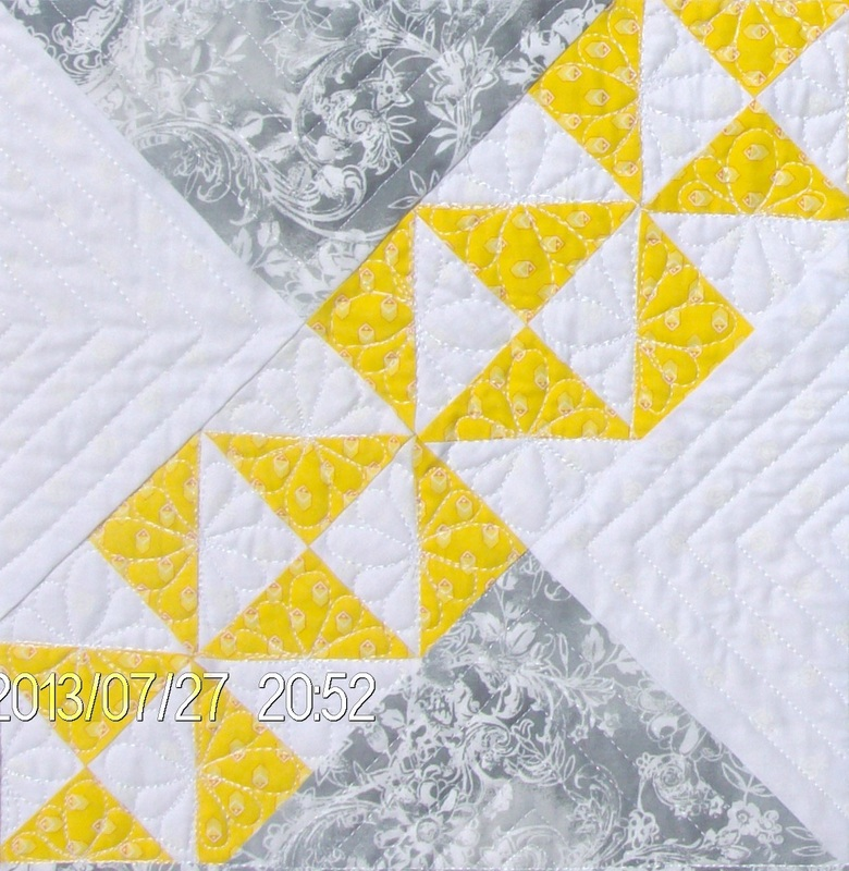 Starry Path quilt block from my favorite quilt book,
