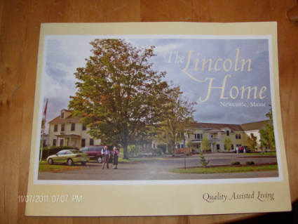 The Lincoln Home Brochure
