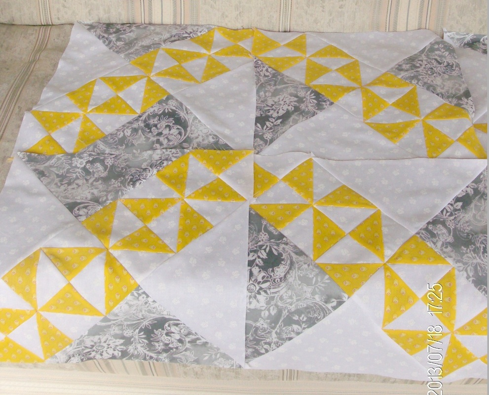 Option three of the starry path quilt.