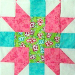 Quilt Block Number 18 - Hearth and Home from