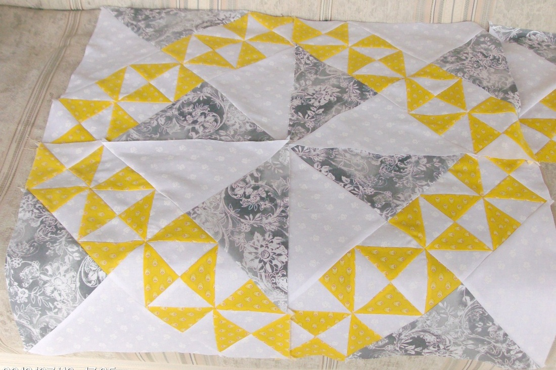 Option two of the starry path quilt.