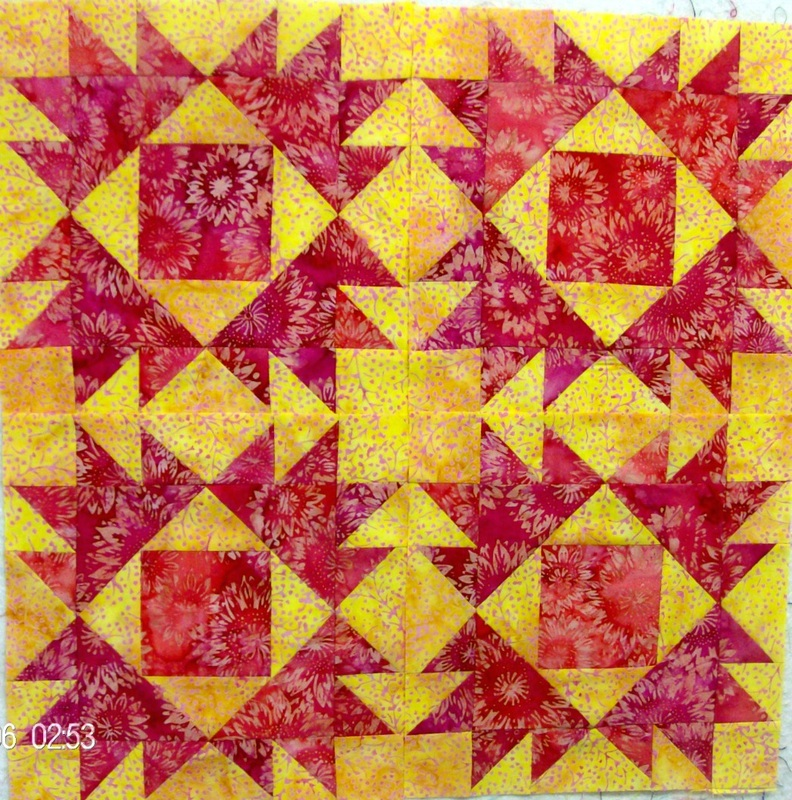 Blogging about four Union quilt squares and the secondary design.