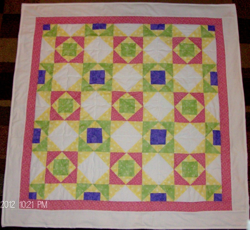 Baby quilt by Homesewn by Carolyn