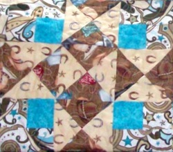 Four Corners Quilt Block