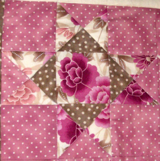 Star of Hope quilt block from
