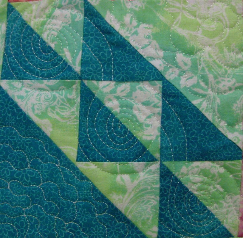 Northwind Quilt Block from http://www.homesewnbycarolyn.com/blog