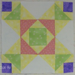 White Hemstitch Baby Quilt by Homesewn by Carolyn