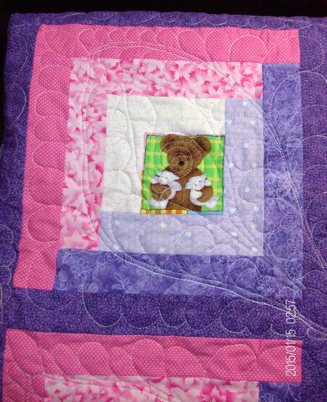 Log Cabin Block, One of the Ten Best Baby Quilt Patterns