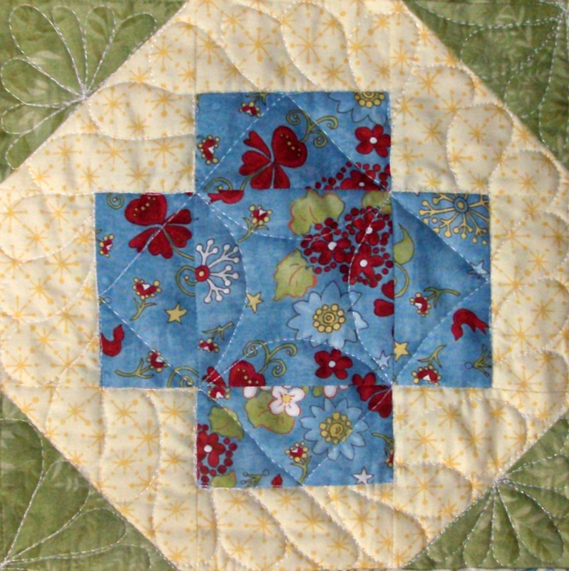 Greek Cross quilt block by
