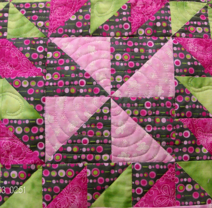 Beginners Delight quilt block.