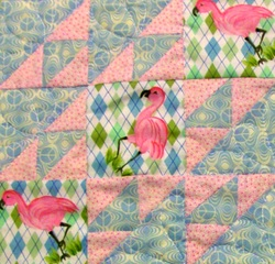 Cat's Cradle quilt block from