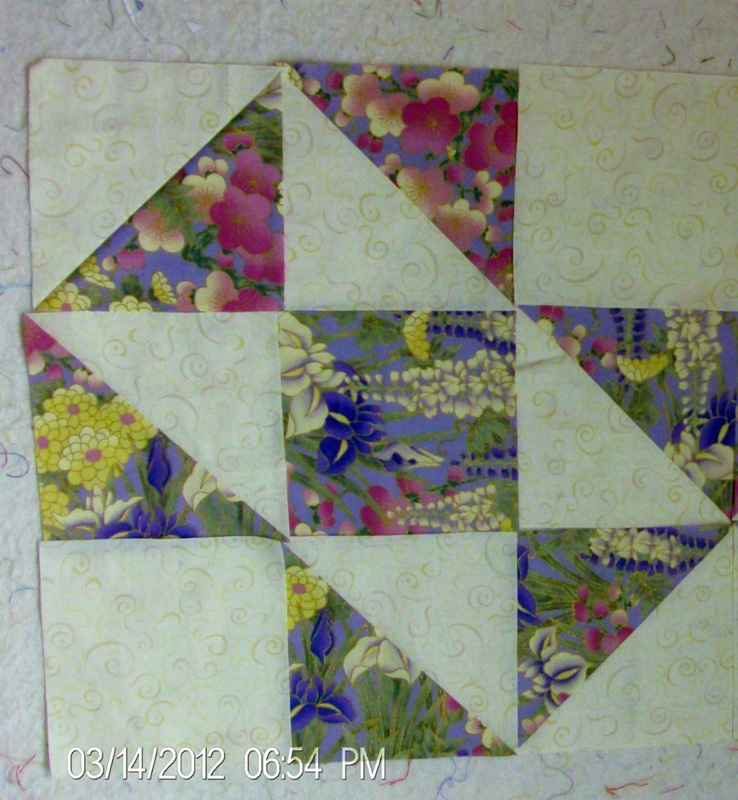 Split Nine Patch Quilt Block