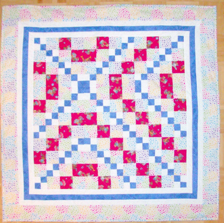 Baby Quilt Carrie Nation Quilt Block.