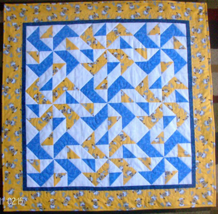 Quilt Blog -Homesewn by Carolyn quilt blog talking about Yankee Puzzle.
