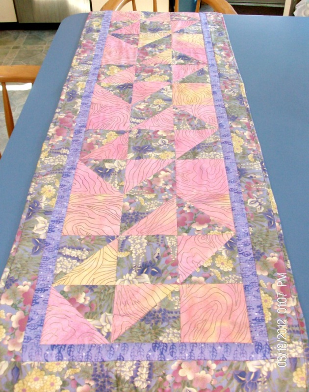 Quilted Table Runner for sale by Homesewn by Carolyn