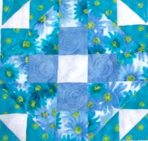 Blogging about Mrs. Keller's Nine Patch quilt block from my favorite quilt book,
