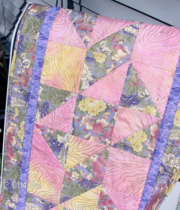Split Nine Patch Table Runner by Homesewn by Carolyn