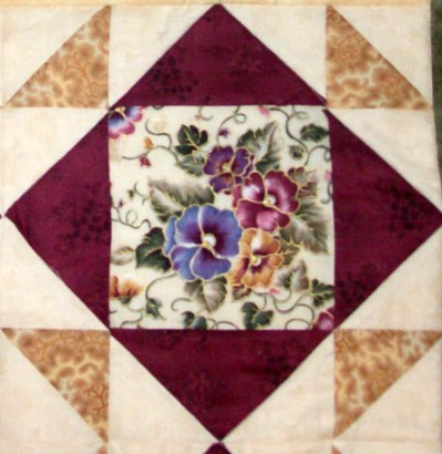 Quilt Block number 24 is called Cyprus.