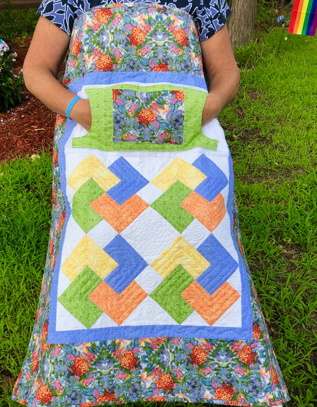 Card Trick Lovie Lap Quilt with Pockets, wheelchair lap quilt, for sale from http://www.HomeSewnByCarolyn.com